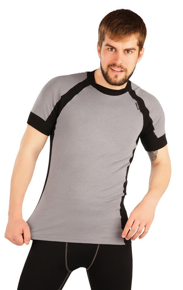 LITEX Termo triko pánské s krátkým rukávem. 90044111 světle šedá M