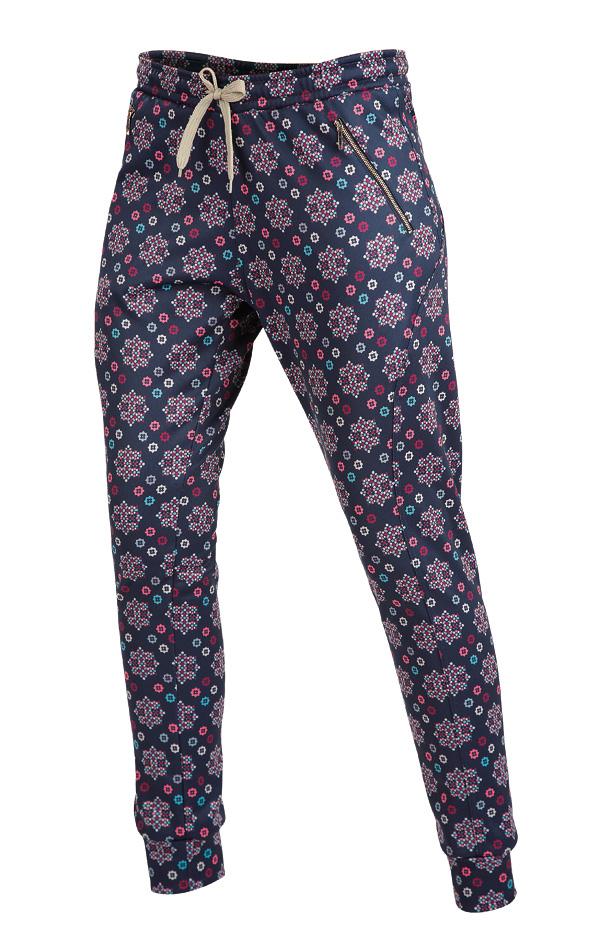 LITEX Kalhoty dámské dlouhé s nízkým sedem. 90061999 tisk S