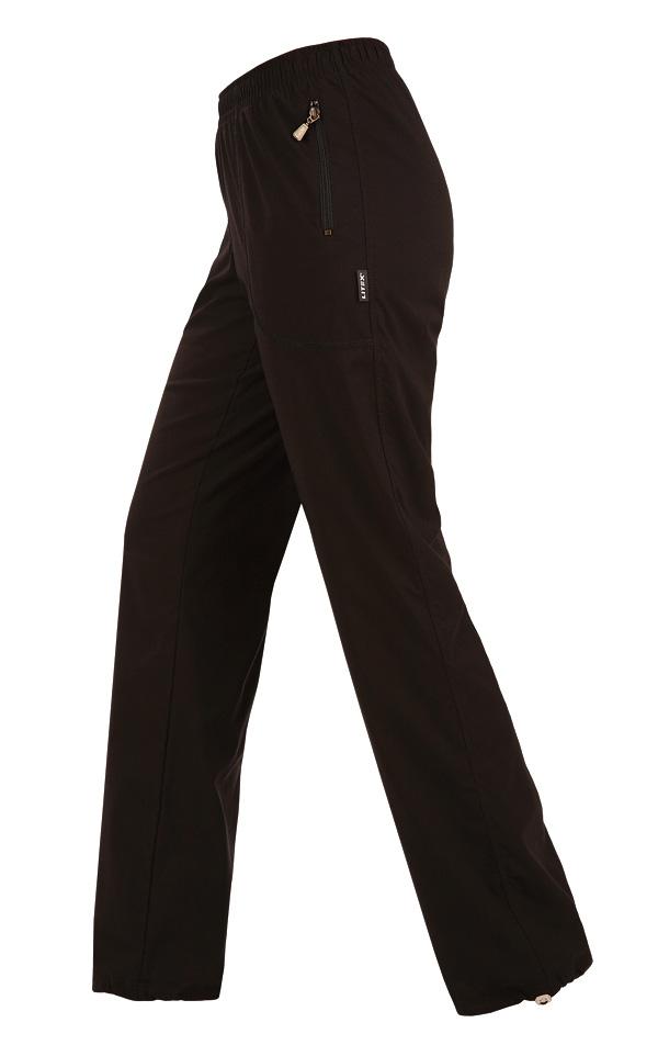 LITEX Kalhoty dámské zateplené - prodloužené. 90108901 černá SP