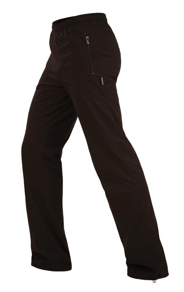 LITEX Kalhoty pánské zateplené. 90109901 černá XXXL