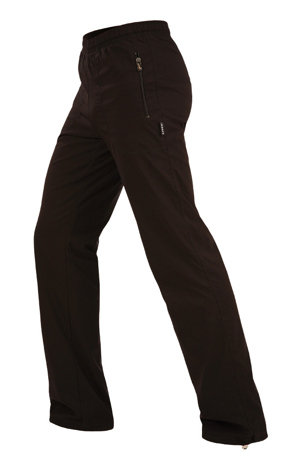 LITEX Kalhoty pánské zateplené - prodloužené. 90110901 černá MP