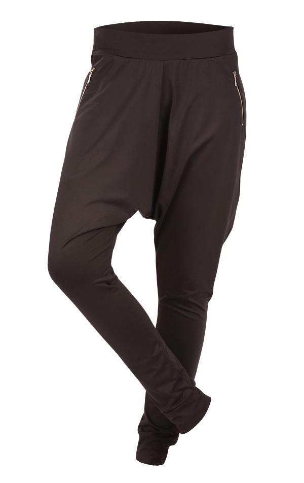 LITEX Kalhoty dámské dlouhé s nízkým sedem. 90179901 černá S