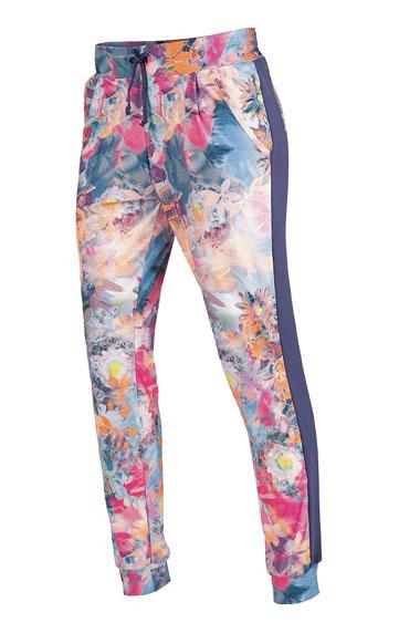 LITEX Kalhoty dámské dlouhé s nízkým sedem. 90232999 tisk S