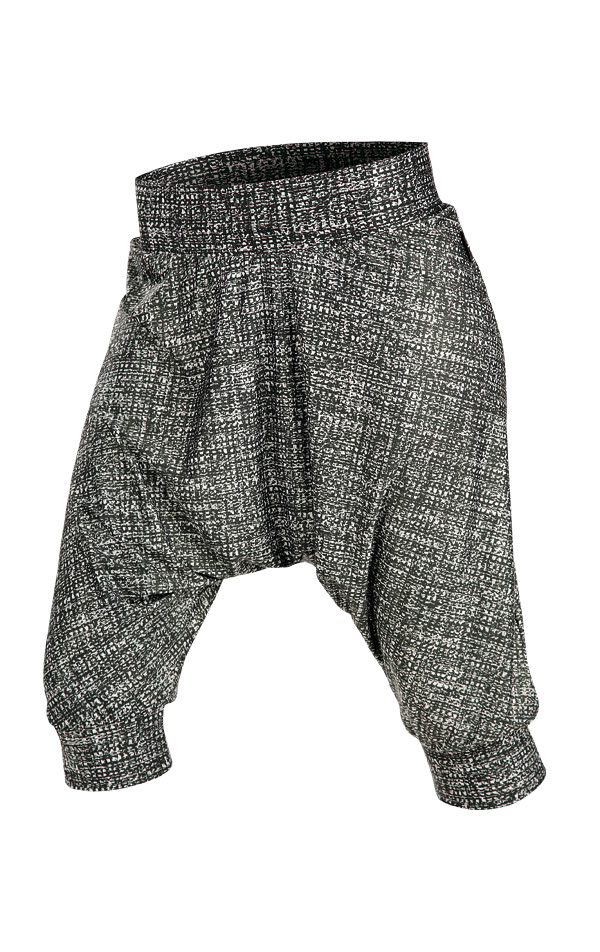 LITEX Kalhoty dámské 3/4 s nízkým sedem. 90244999 tisk S
