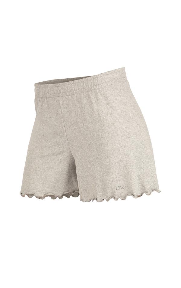 LITEX Dámské pyžamo - kraťasy. 90397110 světle šedé melé S