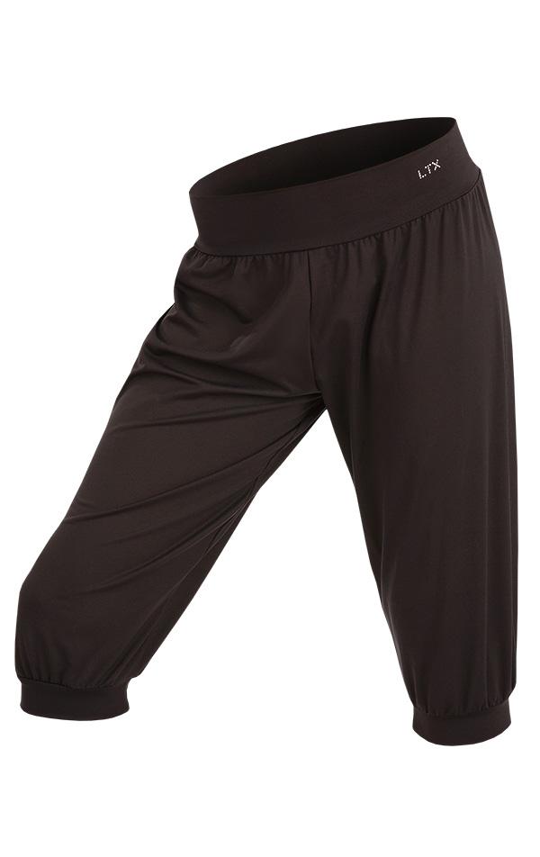 LITEX Kalhoty dětské 3/4 s nízkým sedem. 90413901 černá 158