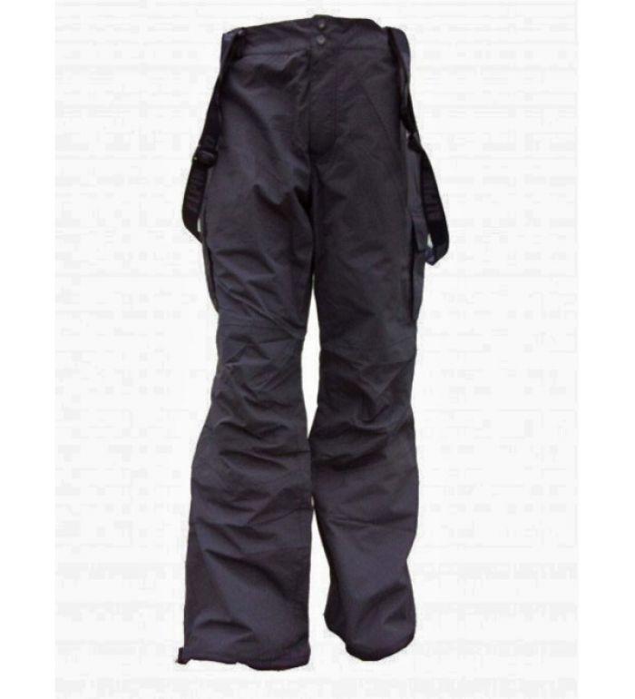 ALPINE PRO TERMINAL Pánské lyžařské kalhoty 9097990 černá L