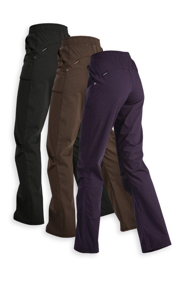LITEX Kalhoty dámské dlouhé do pasu 99513716 fialová