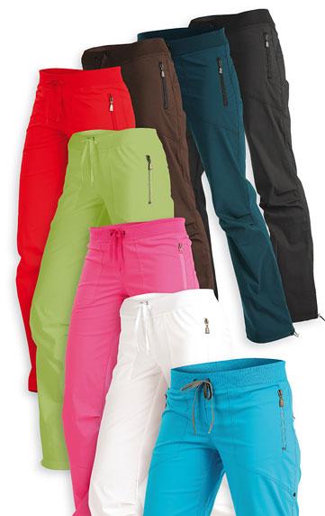 LITEX Kalhoty dámské dlouhé bokové. 99518100 Bílá L