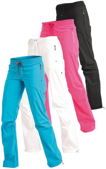 LITEX Kalhoty dámské dlouhé bokové - zkrácené. 99519504 tmavě tyrkysová MZ