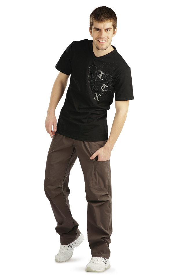 LITEX Kalhoty pánské dlouhé. 99548414 hnědá