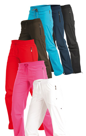 LITEX Kalhoty dámské dlouhé bokové - zkrácené. 99571311 reflexně růžová SZ