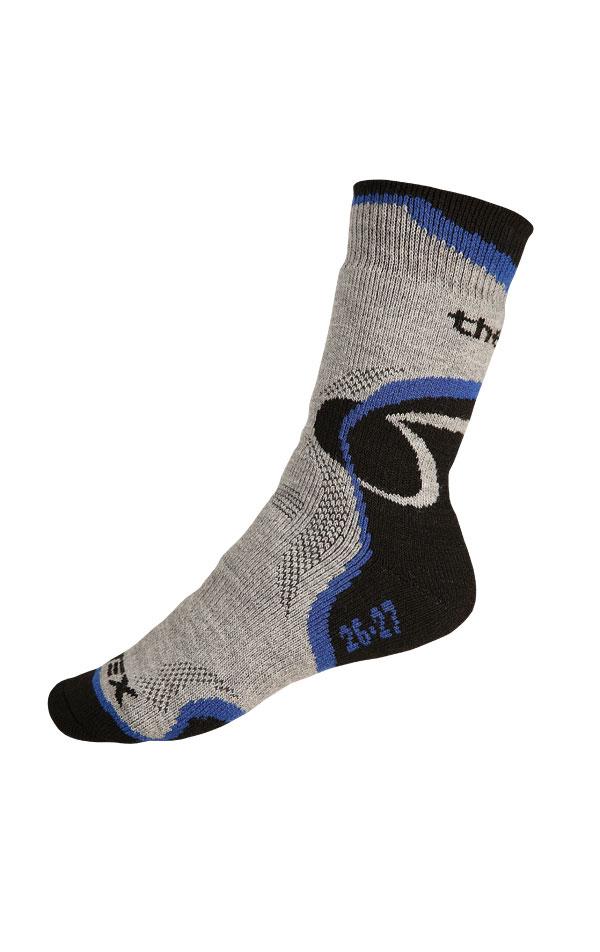 LITEX Thermo ponožky. 99632507 modrá 24-25