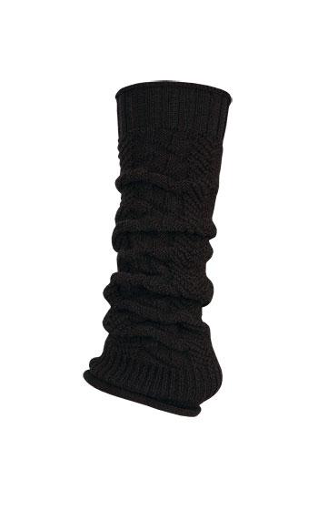 LITEX Módní pletené návleky na botu. 99641901 černá UNI