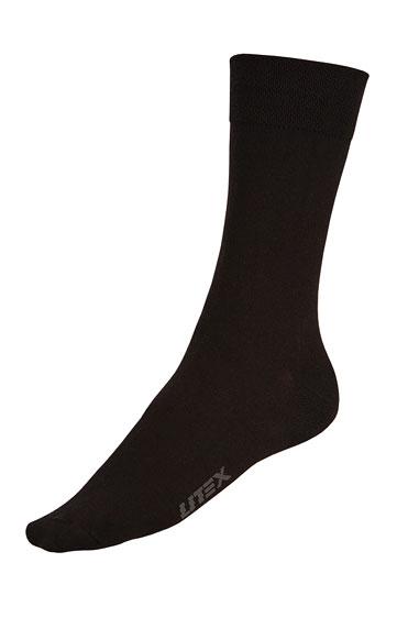 LITEX Pánské elastické ponožky. 99659901 černá 26-27