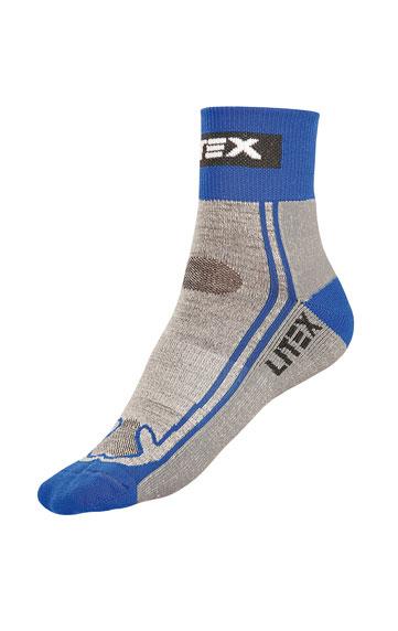 LITEX Sportovní vlněné MERINO ponožky. 99668507 modrá 28-29