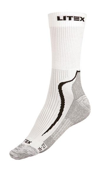 LITEX Outdoor ponožky. 99670100 Bílá 24-25