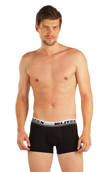 LITEX Boxerky pánské. 99772901 černá XL