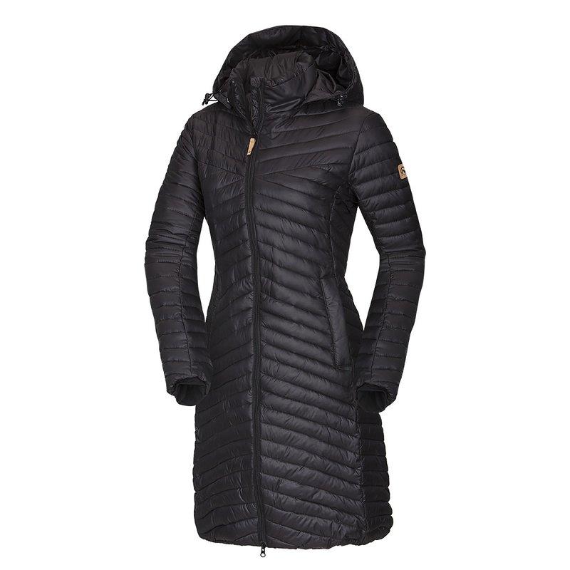 NORTHFINDER KIRSTIE Dámský kabát BU-4427SP269 černá S