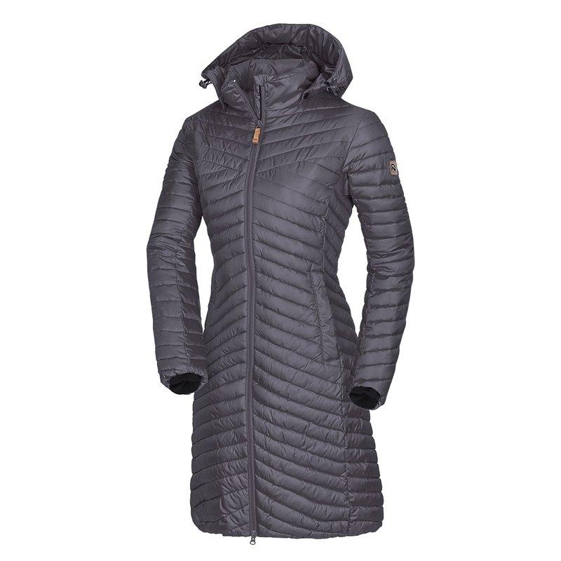 NORTHFINDER KIRSTIE Dámský kabát BU-4427SP334 fialová L