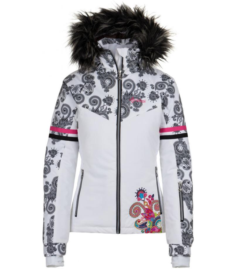 KILPI Dámská zimní bunda LENA -W HL0985KIWHT Bílá