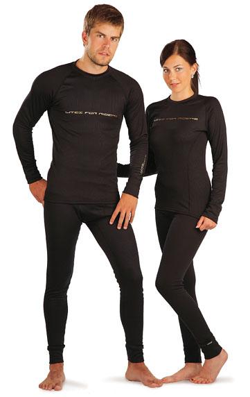 LITEX Thermo triko pánské s dlouhým rukávem. J1012901 černá M