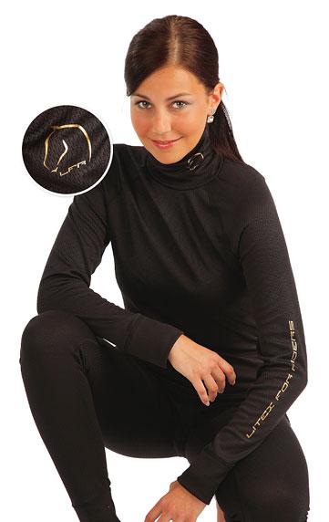 LITEX Thermo rolák dámský s dlouhým rukávem. J1014901 černá S