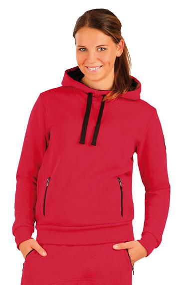 LITEX Mikina dámská s kapucí. J1047306 červená L