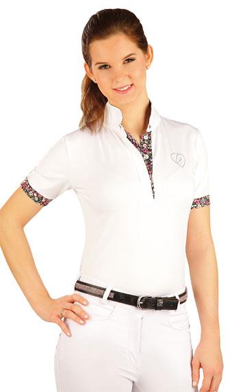 LITEX Triko dámské s krátkými rukávy. J1161100 Bílá S
