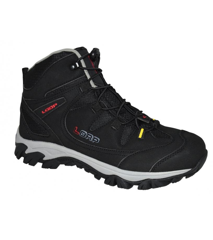 LOAP KICKER Unisex outdoorová obuv HSM17110V11G černá/tomato 40