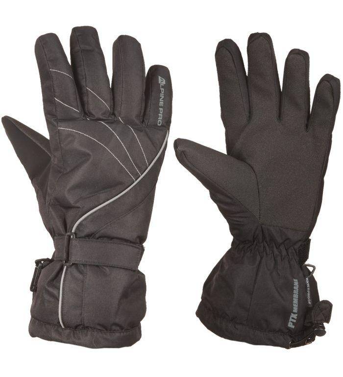 ALPINE PRO ANICET Dámské rukavice LGLD011990 černá M