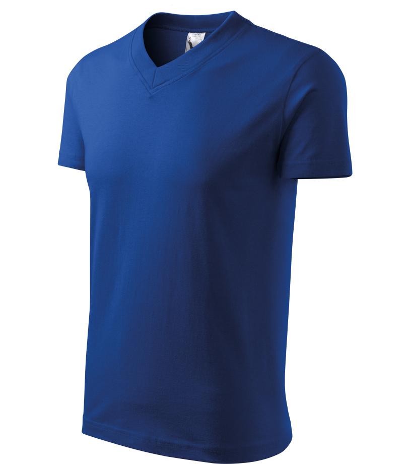 ADLER Heavy V-neck 160 Unisex triko 10205 královská modrá