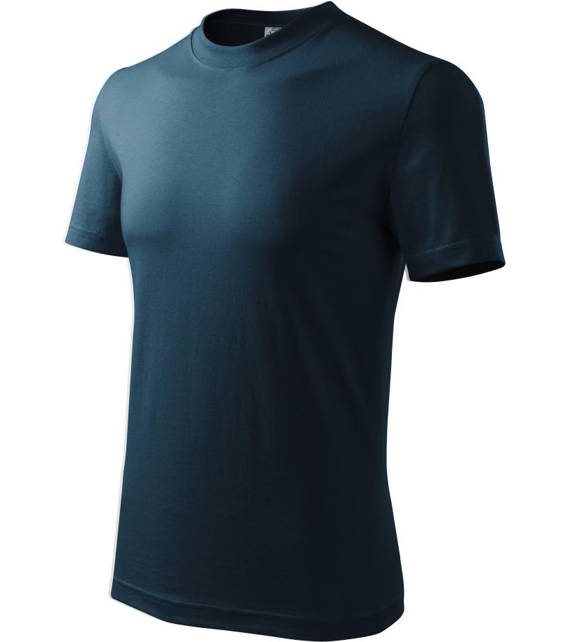 ADLER Heavy Unisex triko 11002 námořní modrá XXXL