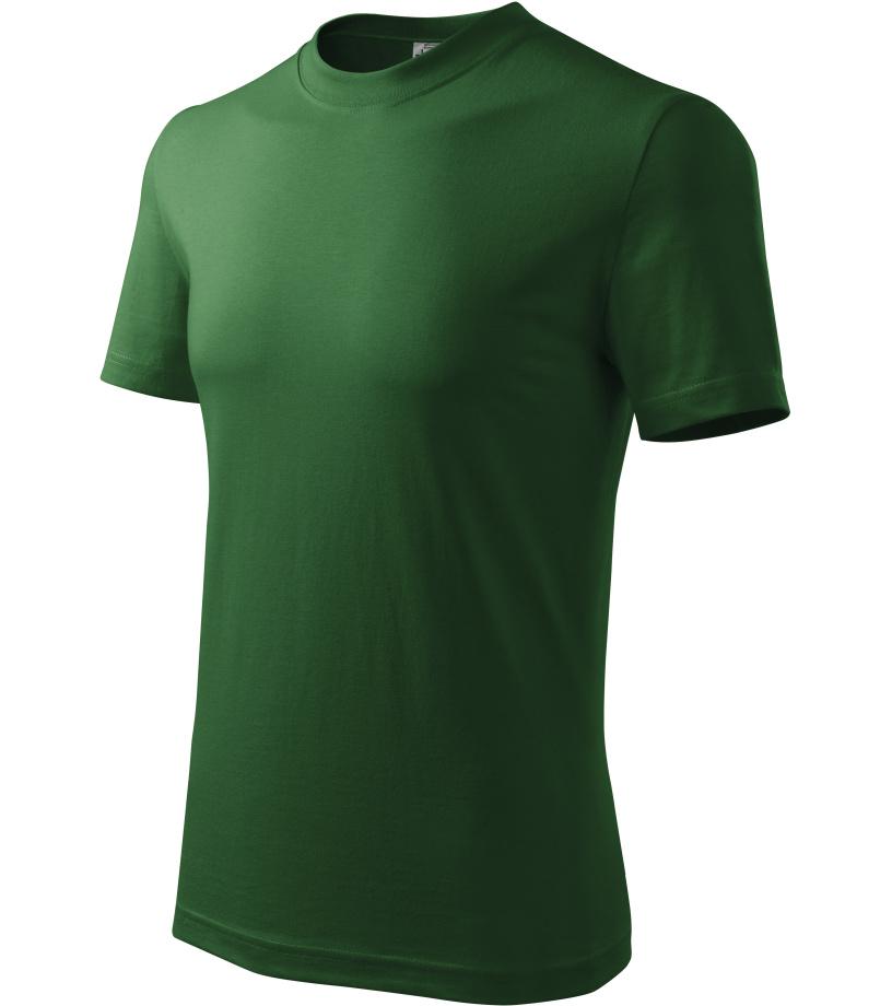 ADLER Heavy Unisex triko 11006 lahvově zelená XXXL