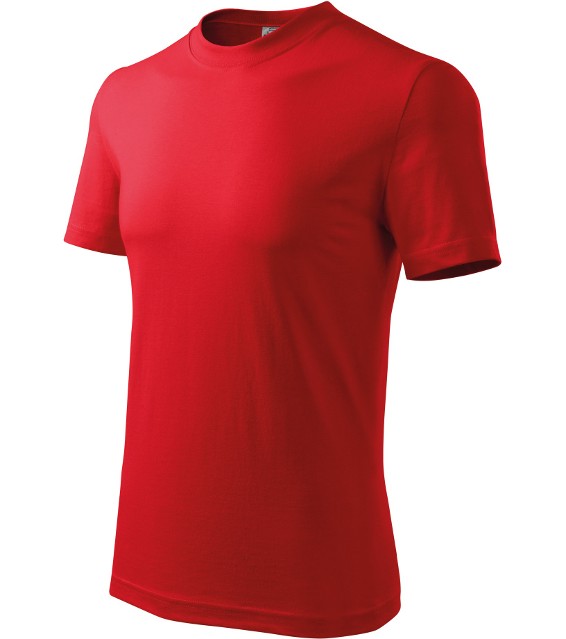 ADLER Heavy Unisex triko 11007 červená XXXL