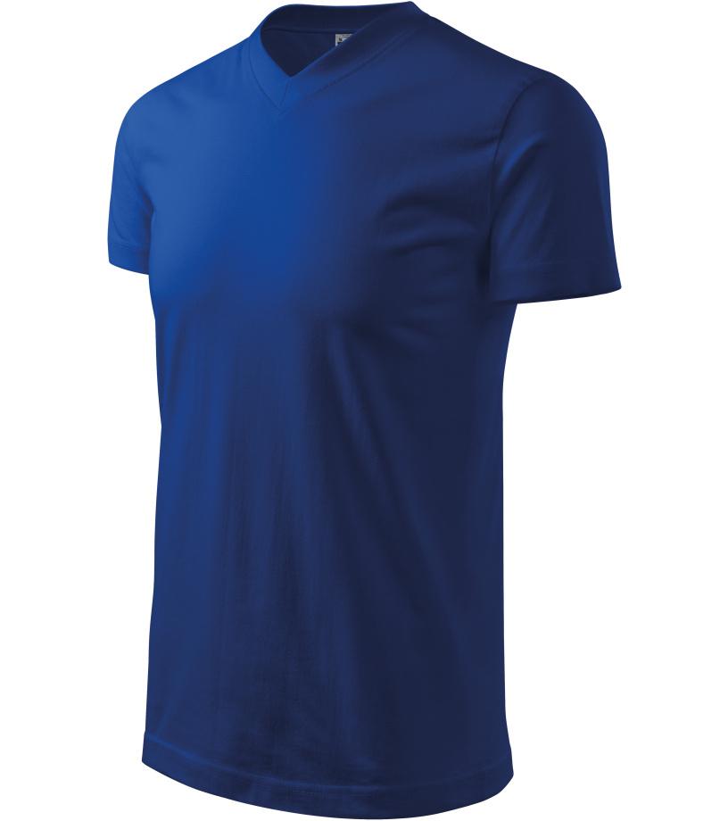 ADLER Heavy V-neck Unisex triko 11105 královská modrá