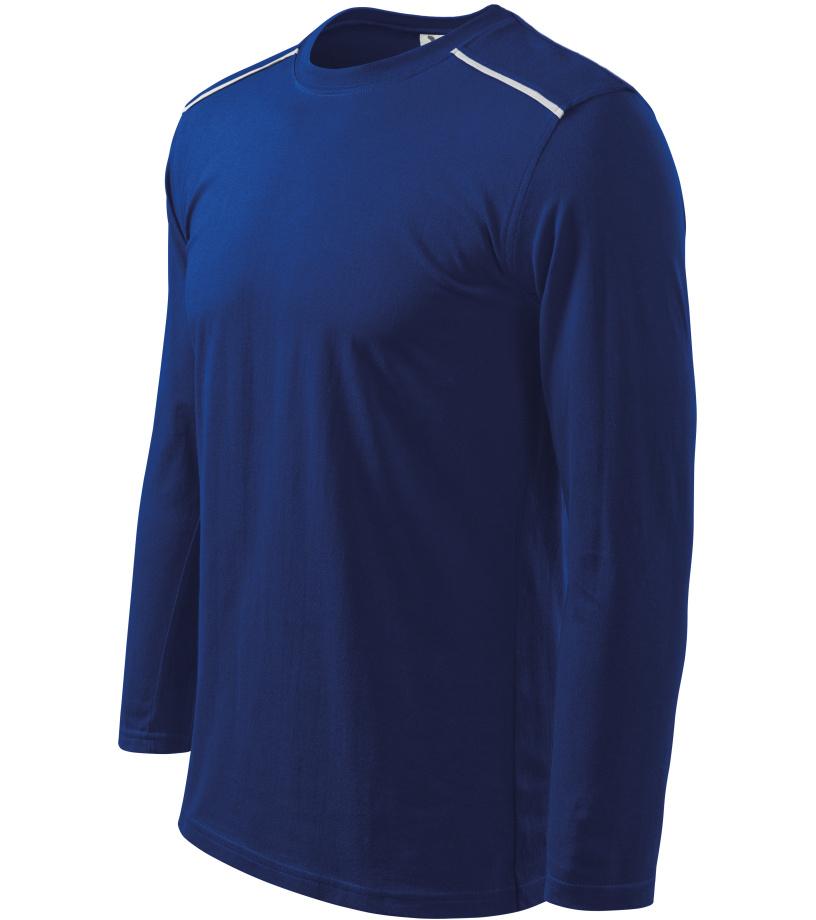 ADLER Long Sleeve Unisex triko 11205 královská modrá XXXL
