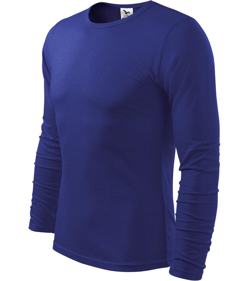 ADLER FIT-T Long Sleeve Pánské triko 11905 královská modrá