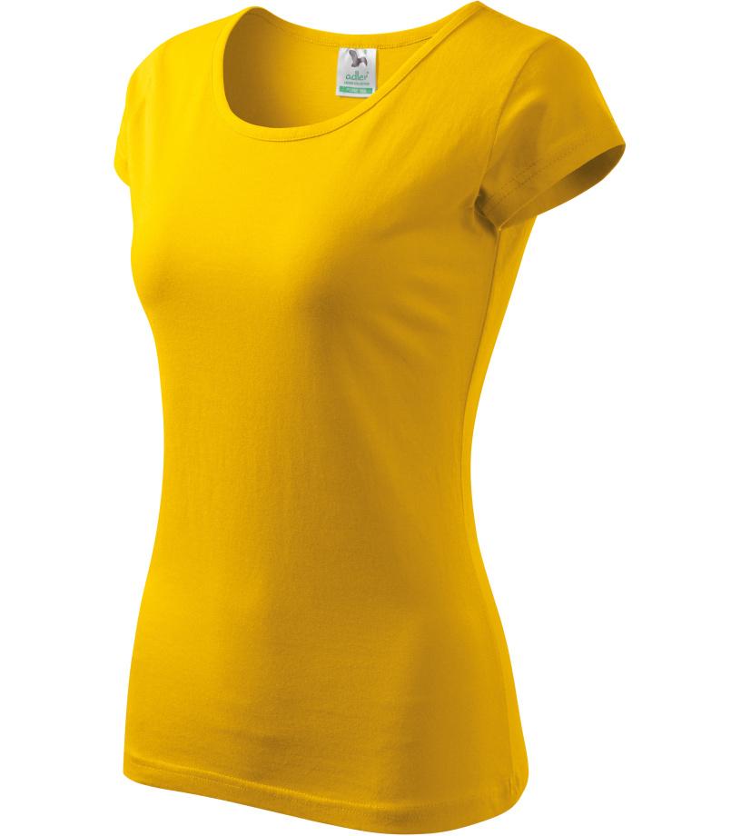 ADLER Pure 150 Dámské triko 12204 žlutá XL