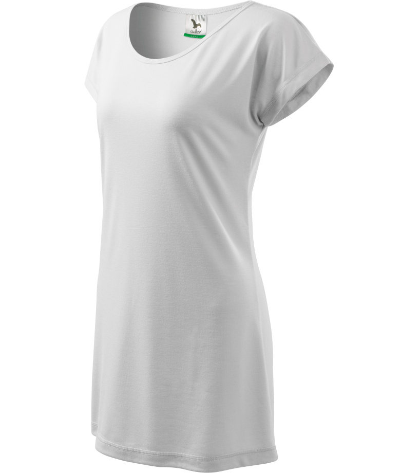 ADLER Love 150 Triko/šaty dámské 12300 bílá L