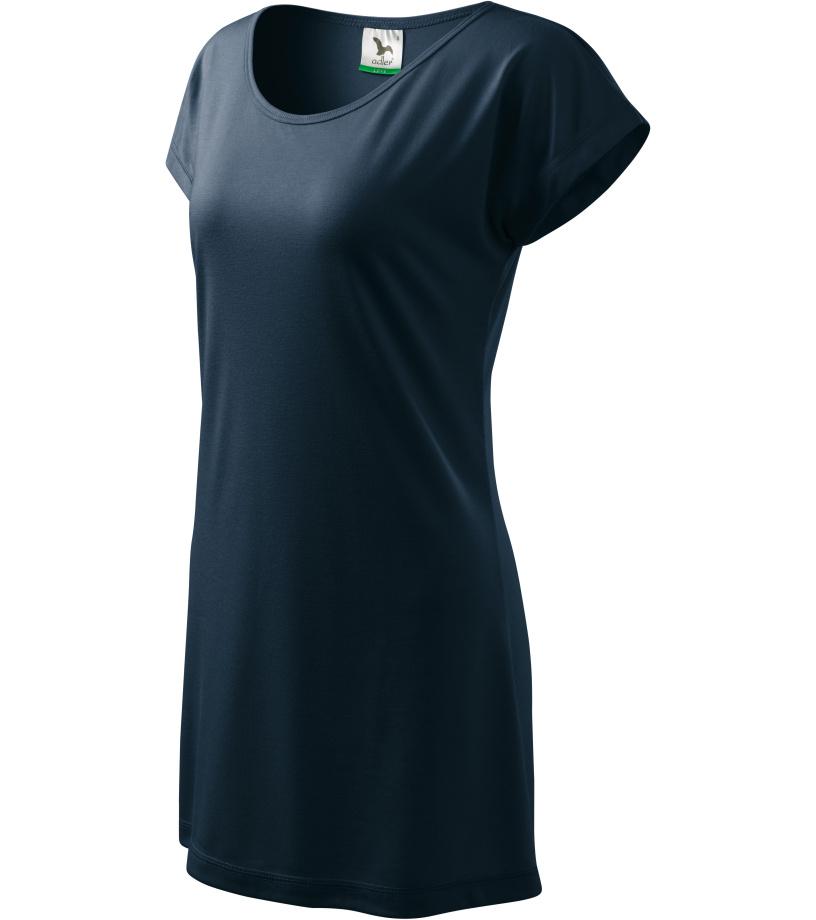 ADLER Love 150 Triko/šaty dámské 12302 námořní modrá L