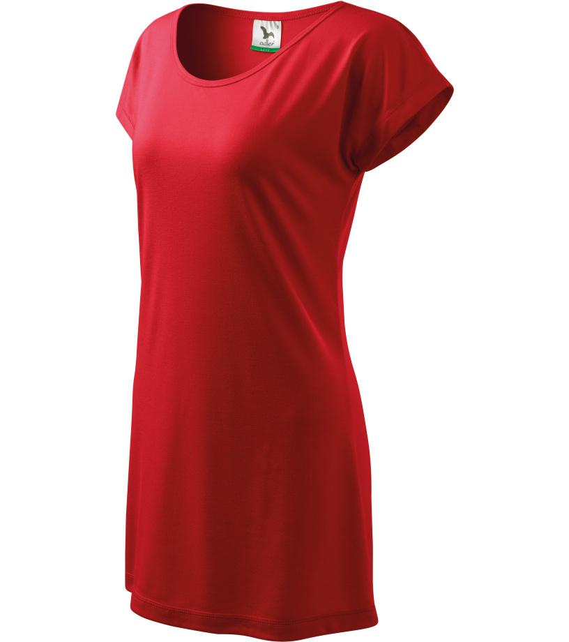 ADLER Love 150 Triko/šaty dámské 12307 červená L