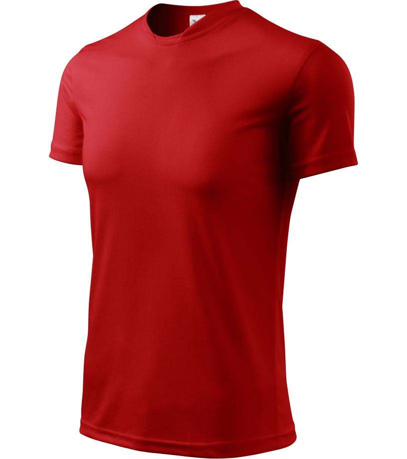 ADLER Fantasy Unisex triko 12407 červená XXXL