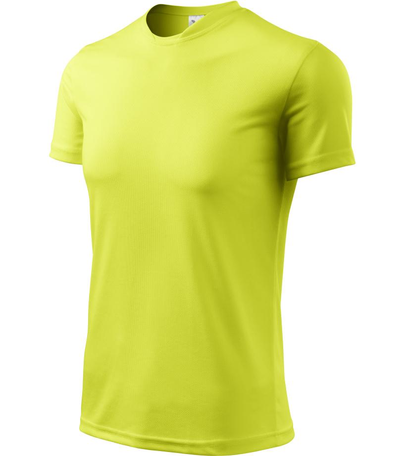 ADLER Fantasy Unisex triko 12490 neon yellow XXXL