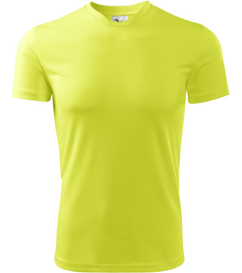 Malfini Fantasy Pánské triko 12490 neon yellow L