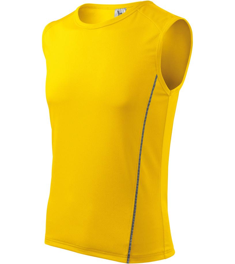 ADLER Playtime Pánské triko 12504 žlutá XL