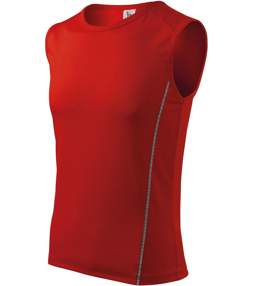ADLER Playtime Pánské triko 12507 červená XXXL