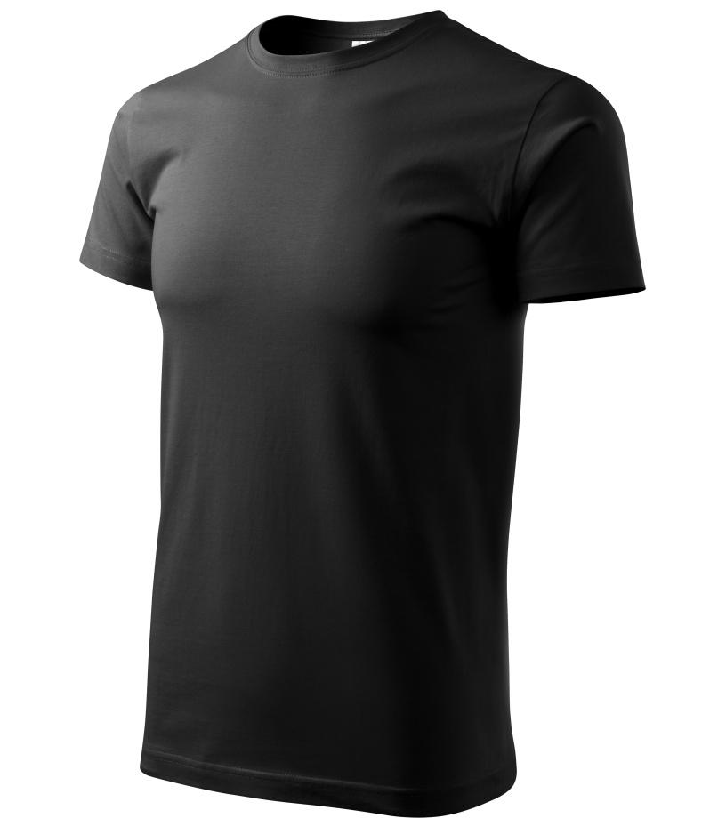 ADLER Basic Unisex triko 12901 černá XXXL