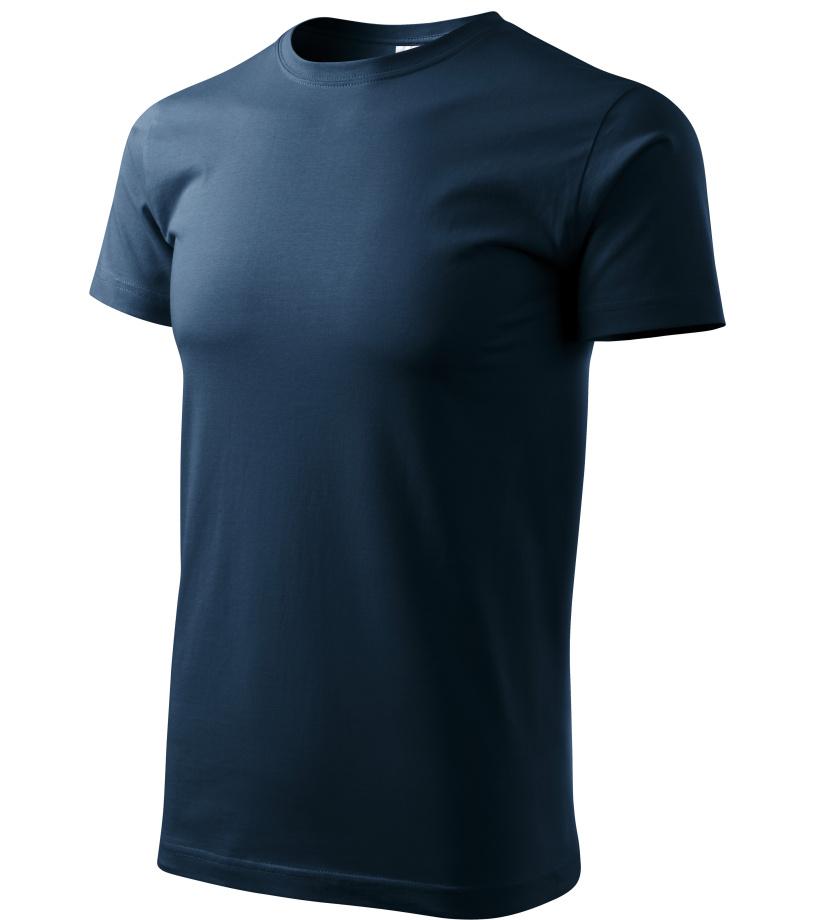 ADLER Basic Unisex triko 12902 námořní modrá