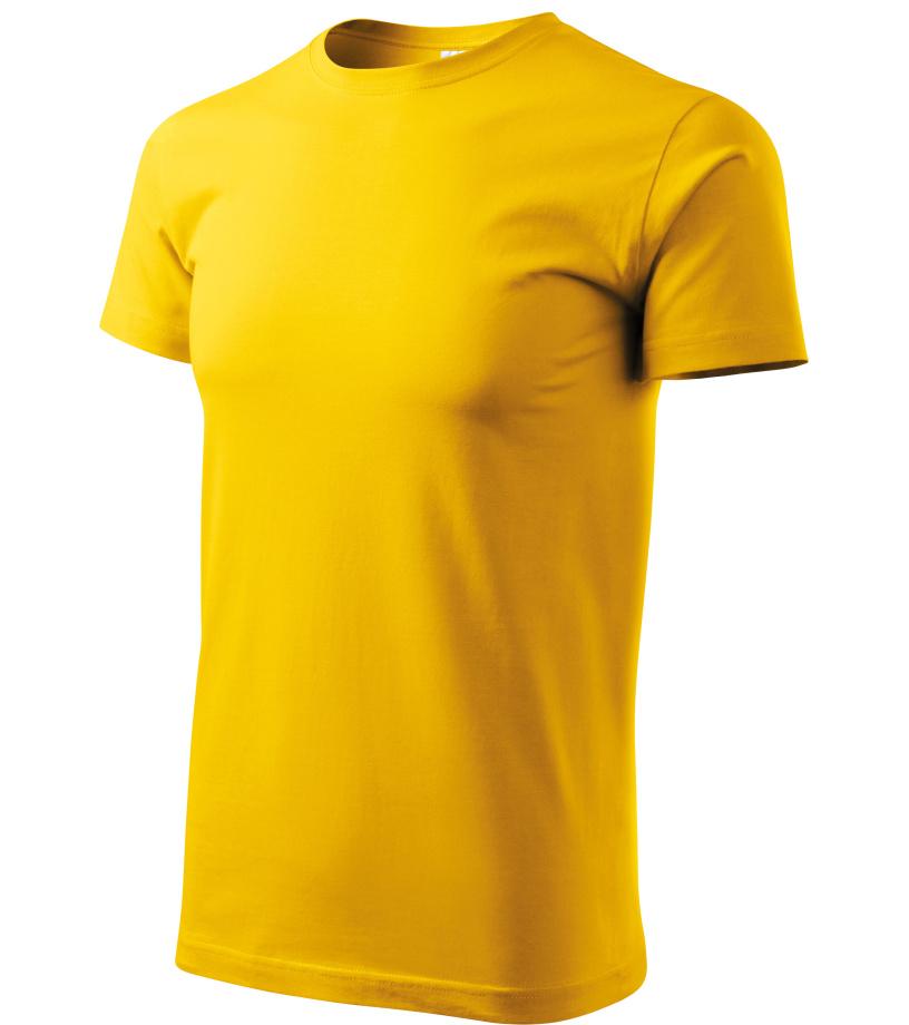 ADLER Basic Unisex triko 12904 žlutá